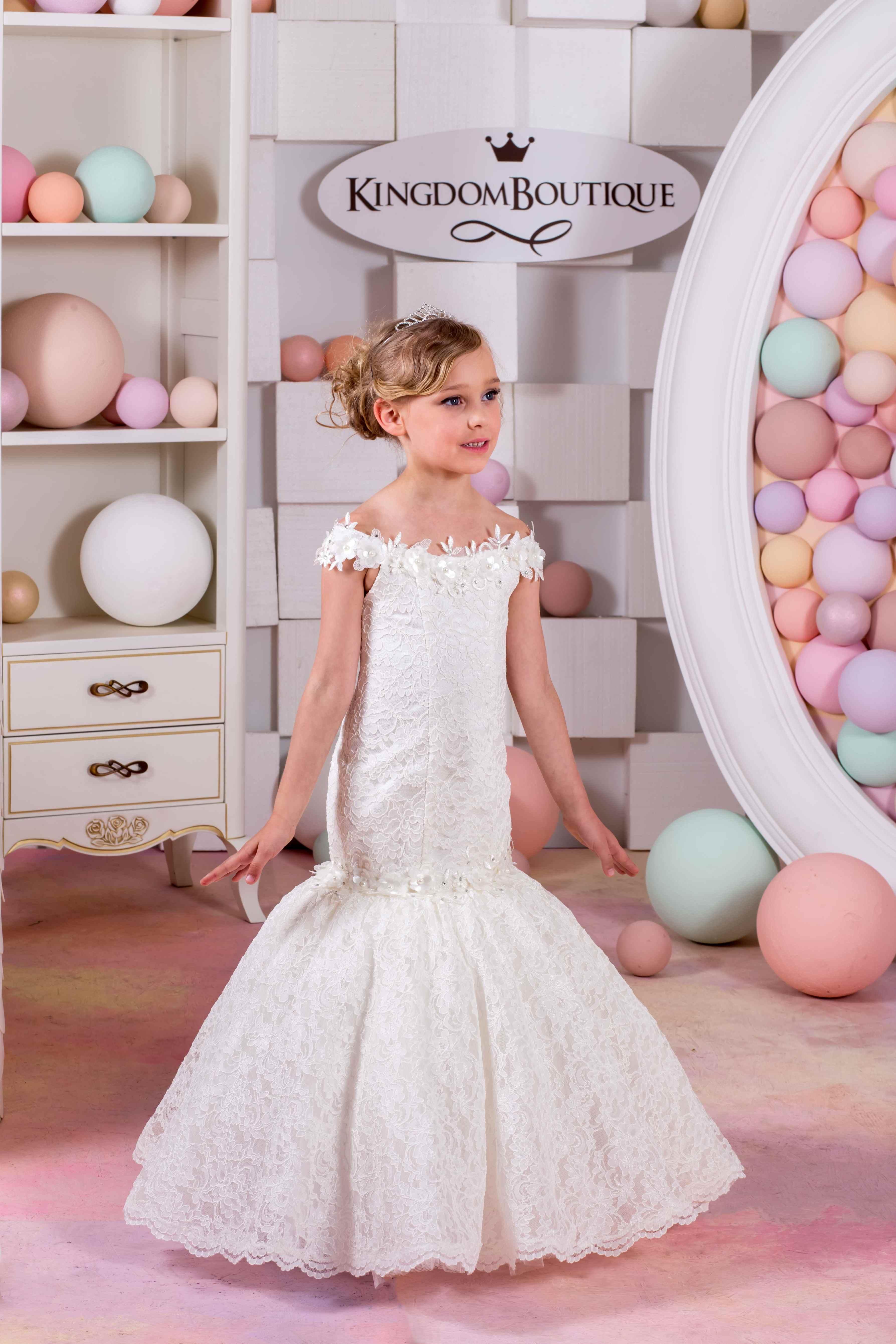 Flower Girl Dress 15 034 Kingdom Boutique